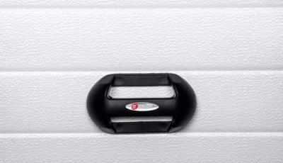 HANDRAIL FOR INDUSTRIAL DOOR