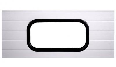 WINDOW FOR INDUSTRIAL DOOR 665 x 345 mm