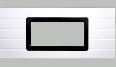 WINDOW FOR INDUSTRIAL DOOR 637 x 334 mm