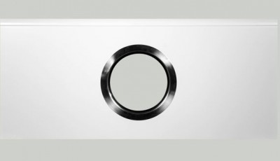 ROUND WINDOW IN SECTION WITH DIAMETER OF 330 MM